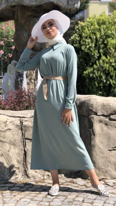 84f6aa6f43560 Tesettür Elbise Modelleri | Kamil Keskin