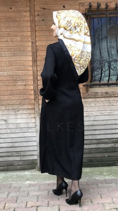 ELBİSE DÜZ BALON KOL
