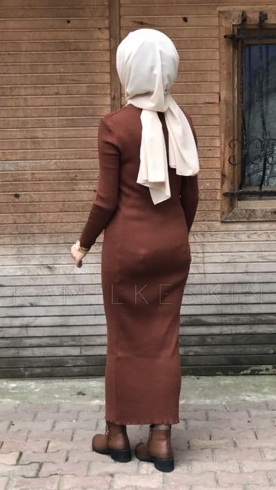 ELBİSE TRİKO DÜZ KESİM