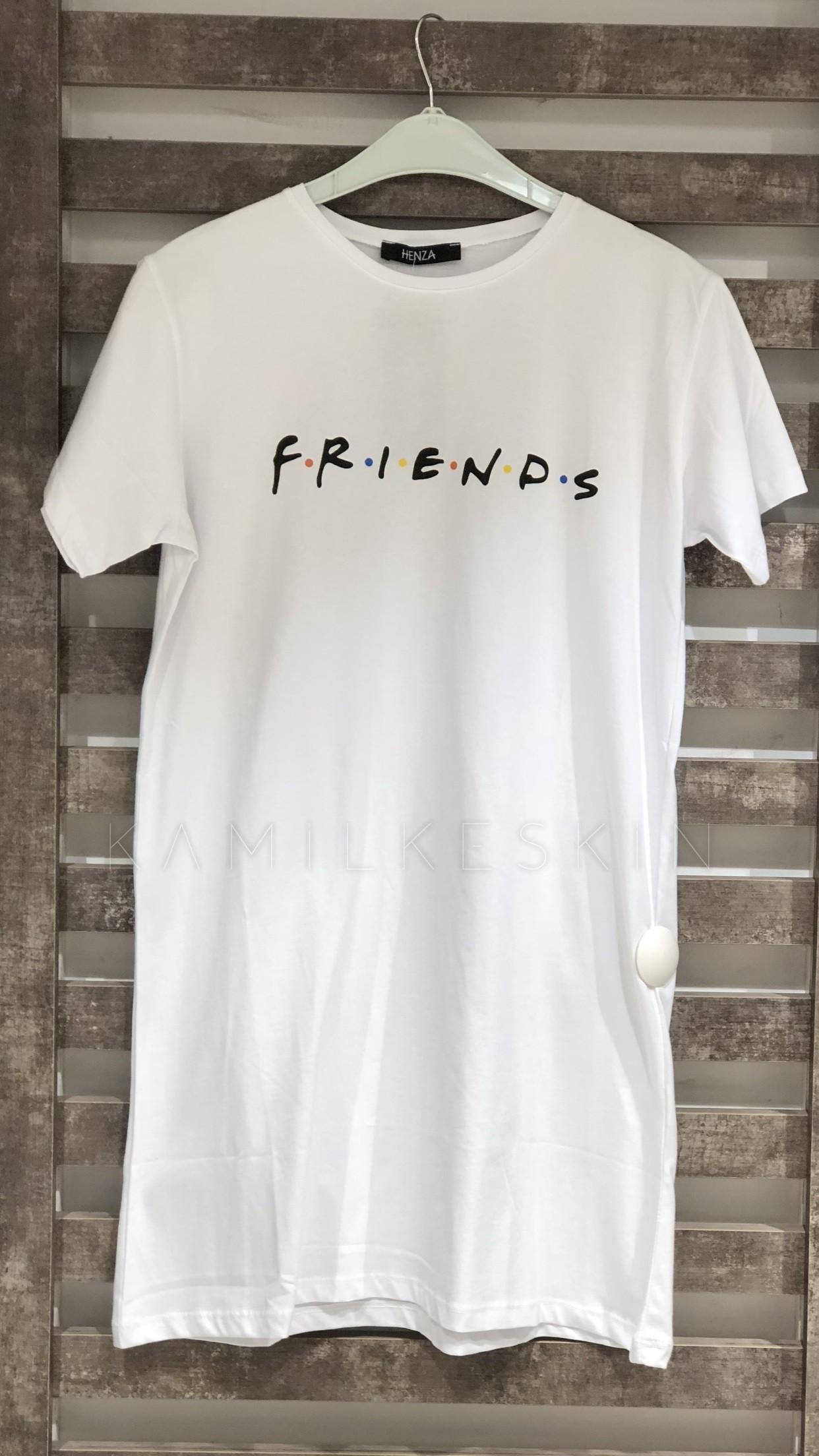 FRIENDS BASKILI TİŞÖRT
