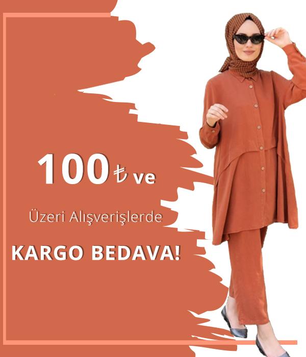 100 TL üzeri Kargo Bedava