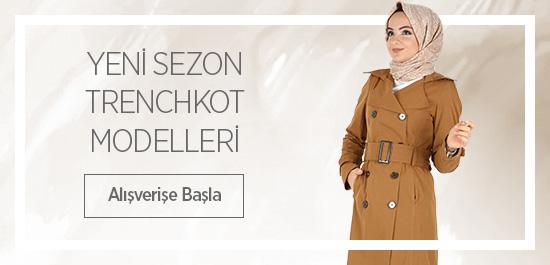 YENİ SEZON Trenchkot MODELLERİ