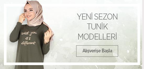 YENİ SEZON TUNİK MODELLERİ